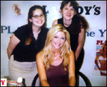 Sarah and Lisa with Brande Roderick